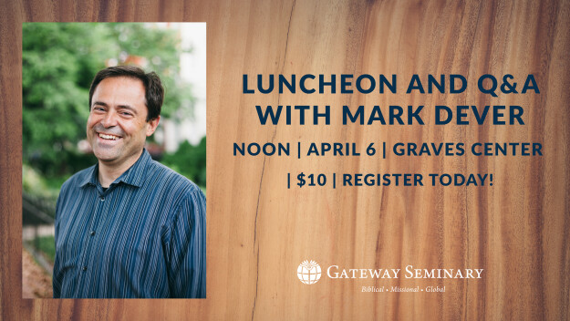 Lunch Q&A with Mark Dever