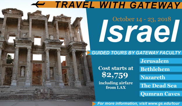 Israel Tour with Gateway